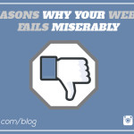 5 reasons why your website fails miserably